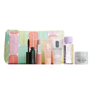 NWT! Clinique 6 pc. Gift Set With Cosmetic Bag!